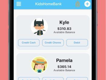 Kids Home Bank Virtual Bank